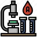 education, healthcare, medical, microscope, observation, science, scientific icon