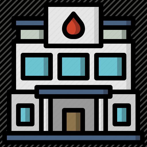 architecture, center, facility, healthcare, medical icon