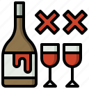 alcoholic, drink, drinks, food, prohibition, restaurant, signaling icon