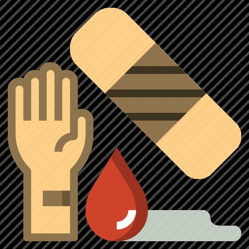 healing, healthcare, medical, plaster, tools, utensils icon