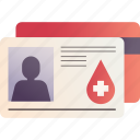 blood donation, card, charity, donation, donor, donor card, id