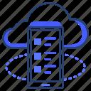 cloud, data, file, storage