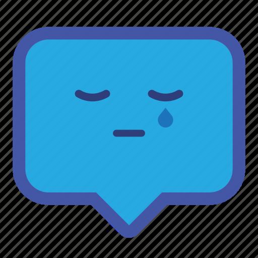 balloon, box, chat, emoticon, pop, smiley icon