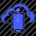 phone, cloud, data, mobile