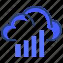 cloud, data, network, connection