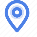 find us, interface, location, map, marker, navigation, pin icon