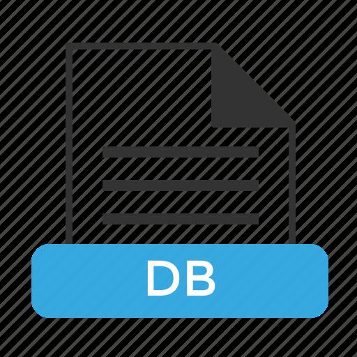 database, db, file, format, server icon
