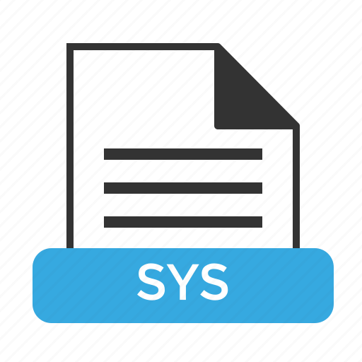 file, format, sys, system, windows icon