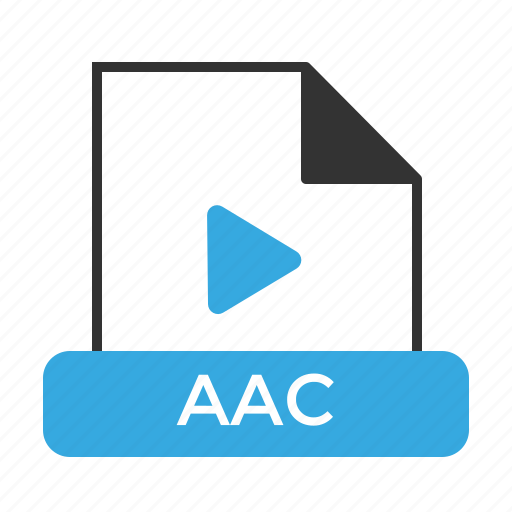 aac, file, format icon