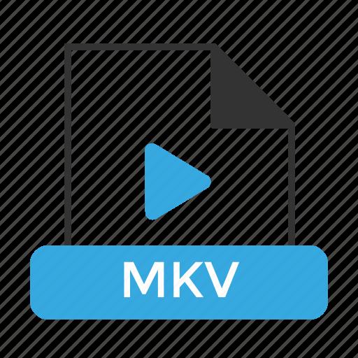 file, format, mkv icon