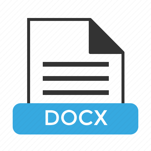 Docx, file, format icon - Download on Iconfinder