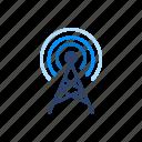 signal, wifi, antenna, satellite, tower icon