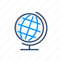 country, earth, global, globe, map, world icon