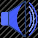 sound, speaker, volume