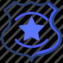 police, cop, badge
