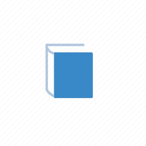advertising, blue, book, marketing icon