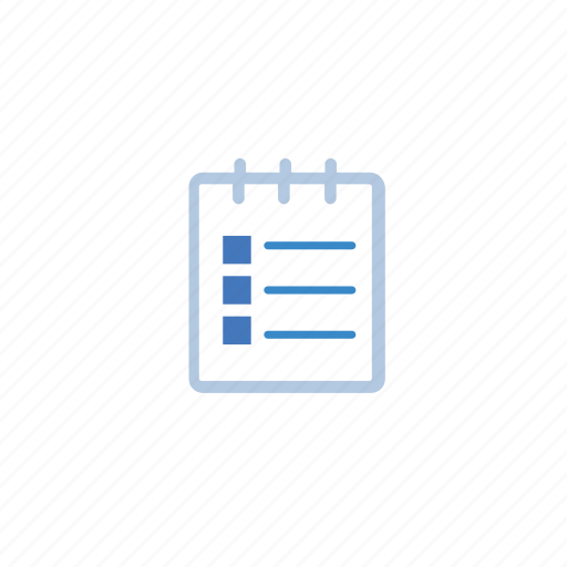 blue, edit, note icon