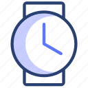 clock, time, watch, wrist, wrist watch icon
