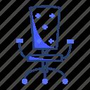armchair, chair, desk, furniture, interior, office