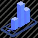 graph, mobile, diagram