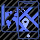 map, mobile, navigation
