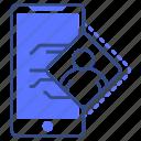 profile, mobile, avatar, user