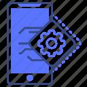 mobile, option, setting