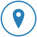 app, geo, location, mobile, point, service icon
