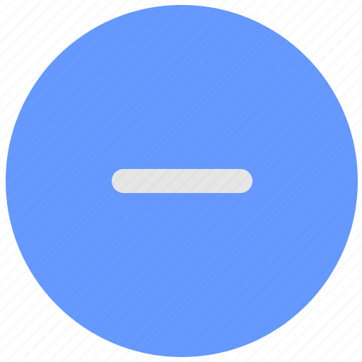 blue, geo, minus, scale, service, stop icon