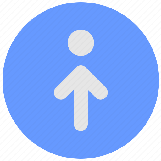 aim, blue, geo, round, route, service, target icon