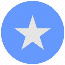 blue, choice, favorite, geo, round, service, star icon