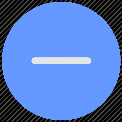 ban, blue, geo, minus, round, scale, service icon
