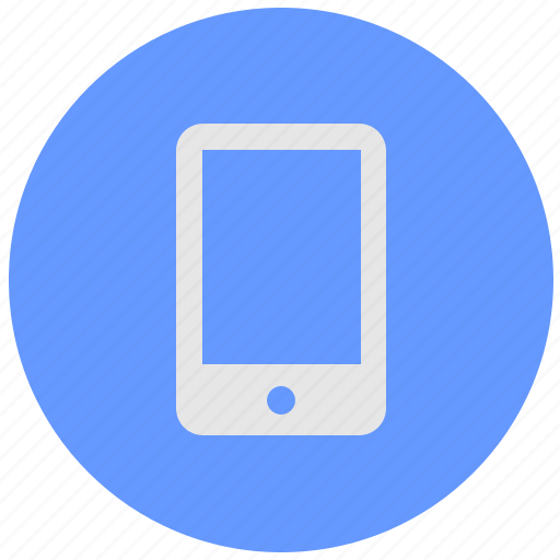 blue, geo, mobile, round, screen, service icon