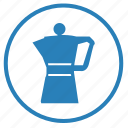 coffee, drink, hot, pot, teapot icon