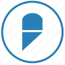 cut, erase, function, knife, round, separate icon