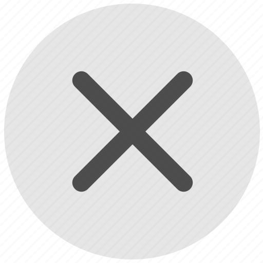 ban, close, delete, geo, round, service icon