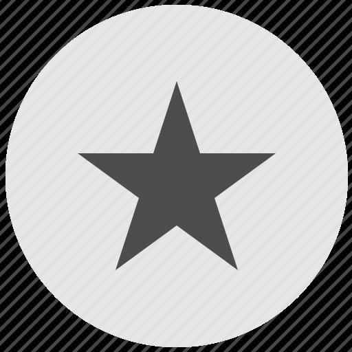 choice, favorite, geo, round, service, star icon