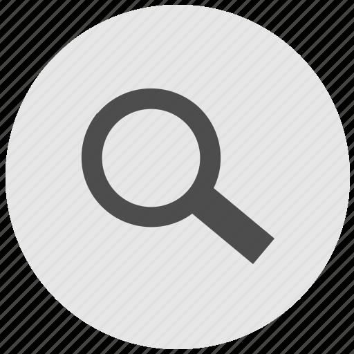 find, geo, instrument, round, search, service icon