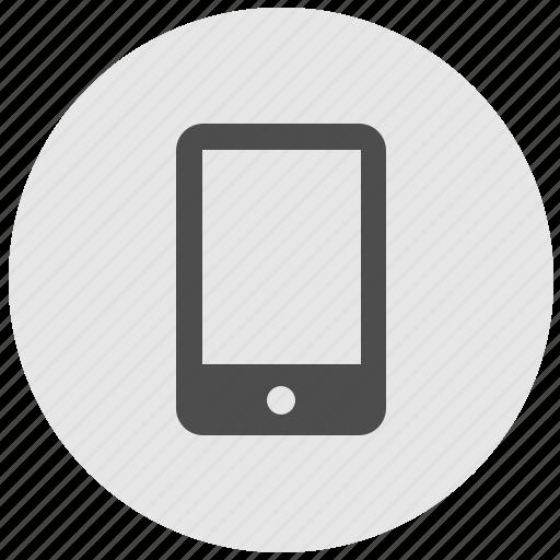 geo, mobile, round, screen, service icon
