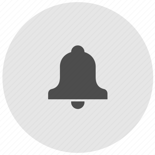 bell, geo, ring, round, service, signal icon