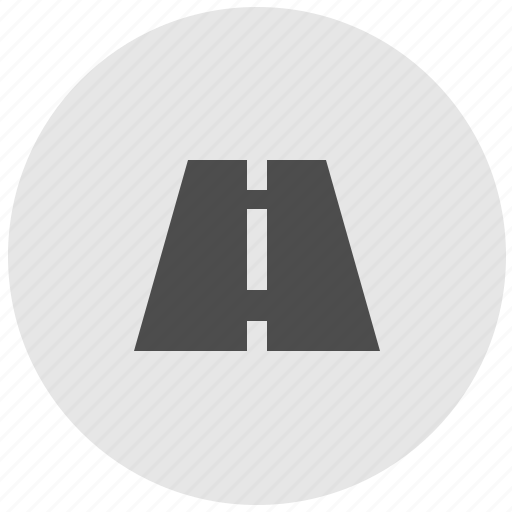 geo, highway, road, round, service, traffic icon