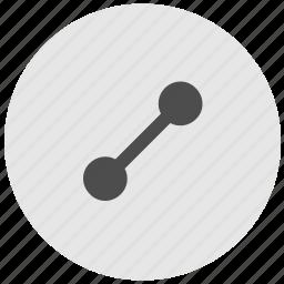 geo, round, route, service, way icon