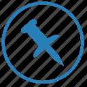 attach, attachment, file, function, pickup icon