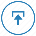 data, export, file, function, storage, upload icon