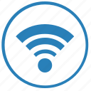 access, dot, free, internet, point, wifi icon
