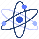 atom, science, research, education