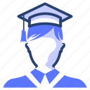 student, graduation, degree