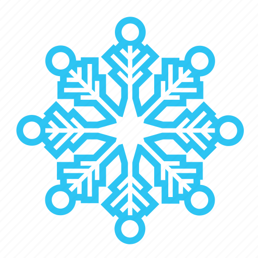 cold, sky, snow, snowflake, winter icon