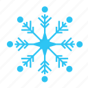 christmas, cold, falling, sky, snow, snowflake, winter icon