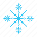 christmas, cold, sky, snow, snowflake, winter icon